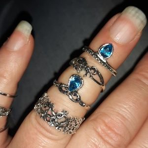 Jewelry - Set of 6 Finger Rings